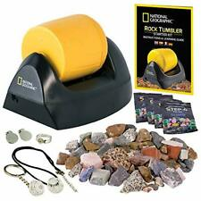 New listing Rock Tumbler Polisher Machine Kit Smooth Stone Maker Gems Collector Kids Science