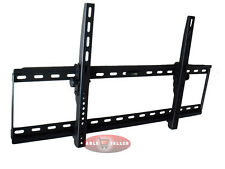 EXTRA WIDE SLIM TV LCD PLASMA TILT WALL MOUNT BRACKET 37 42 46 50 52 55 57 60 70