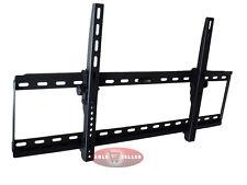 EXTRA WIDE SLIM TV LCD PLASMA TILT WALL MOUNT BRACKET 37 42 46 50 52 55 57 60 70