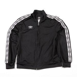 Vintage Umbro Black Track Jacket Medium