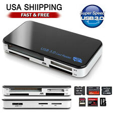 USB 3.0 All in 1 Compact Flash Multi Card Reader CF Adapter Micro SD 5Gbps MS XD