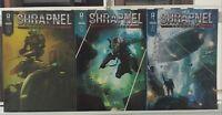 Shrapnel Hubris 1 2 3 Complete Set Series Run Lot 1-3 VF/NM