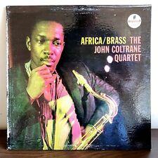 Africa/Brass John Coltrane Quartet 1961 Vinyl Impulse Records 1st Press Jazz RVG