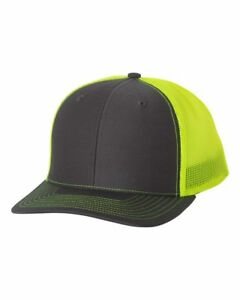New! Richardson Trucker Ball Cap Meshback Hat Snapback 2-Tone Cap 112