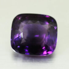 25.15CTS FREE SHIPPING BEST UNIQUE DEEP PURPLE-NATURAL AMETHYST-LOOSE GEMSTONE