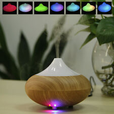 LED Ultrasonic Air Humidifier Oil Aroma Vaporiser Diffuser Purifier Steam Mist