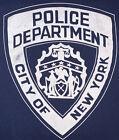 NYPD NYC Police Department New York City T-Shirt Sz XL Brooklyn
