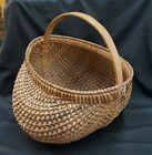 Primitive 16  x 14  Egg or Buttocks Basket