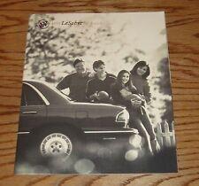Original 1999 Buick LeSabre Deluxe Sales Brochure 99