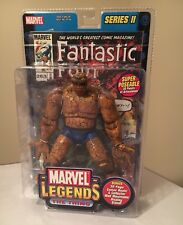 MARVEL LEGENDS THE THING Fantastic Four SERIES II Toybiz Action Figure w/Comic