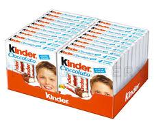 20 x KINDER Chocolate Boxes 50g 1.8oz - 80 Sticks Total