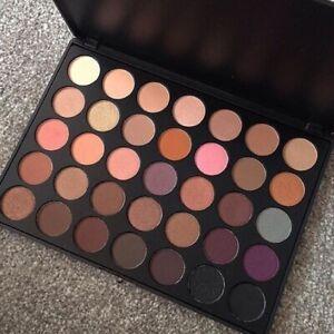 Crush Cosmetics 35W Warm Eyeshadow Palette 56.2g discontinued brand rare!