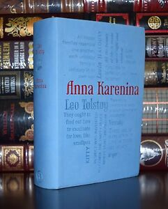 Anna Karenina by Leo Tolstoy Romance Brand New Unabridged Soft Leather Feel Gift