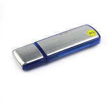 8GB Digital Diktiergerät Aufnahmegerät Audio Voice Recorder USB Stick Mini