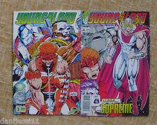 Comics,Youngblood,#3 y #4,Image,World Comics,Planeta DeAgostini,Rob Liefeld,1994