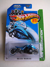 Hot Wheels 2013 ISSUE MAX STEEL MOTORCYCLE 59/250 HW IMAGINATION