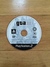 Grand THEFT AUTO III (3) GTA pour PS2 * Disque Uniquement *