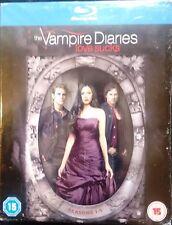 The Vampire Diaries: Love Sucks Seasons 1 2 3 4 5 Blu-Ray Box Set