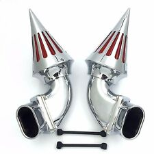 Chrome Spike Air Cleaner Intake Filter Kits For Suzuki Boulevard M109 M109R NEW