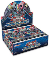 YUGIOH RISING RAMPAGE BOOSTER BOX 1ST EDITION! FACTORY SEALED! *12 AVAILABLE*