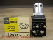 Allen Bradley 800T-PA16 Push Button Series A/No Ring