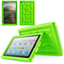 Corner Protection Case For Amazon Fire HD 10 (2019) Tablet Silicone Cover Green