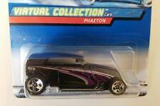 New! Hot Wheels - Black Phaeton Car #27130 - Collector #164 - Virtual Collection