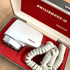 Very Rare PHILIPS Philishave HP 1109 Mens Shaver in Original Box & Fully Working