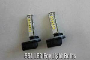 2pcs LED Fog Light 881 for Hyundai Kia car