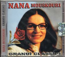 NANA MOUSKOURI CD stampa ITALIANA sigillato GRANDI CLASSICI made in ITALY sealed