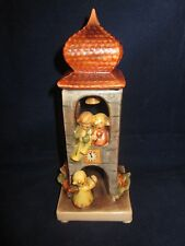 """HUMMEL #163 """"Whitsuntide"""" Angel with Bell Tower 6.75"""" ~ TMK6 ~ W Germany ~ EXC"""