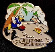 Rare 2002 Disneyland California Adventure Summertime Fun Donald & Goofy Pin