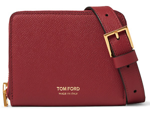 Tom Ford Lanyard Pouch Bag Neck Strap Purse Wallet Cards New