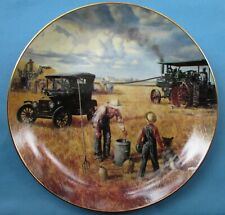 Bountiful Harvest by Emmett Kaye Collector Plate Danbury Mint Excellent