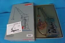 Marklin 7051 Electric Slewing Crane 60-ies version with Magnet Analog !