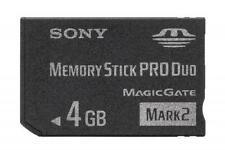 Cartes mémoire Sony memory stick pour appareil photo et caméscope
