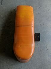 LAMBRETTA SLOPE BACK ANCILLOTTI TYPE SEAT GP LI TV SX NEW ORANGE CLEARANCE