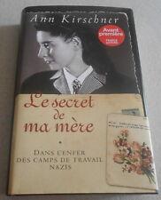 ANN KIRSCHNER / DANS L'ENFER DES CAMPS DE TRAVAIL NAZIS..Ed reliée,illustrée
