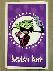 Teen Titans Go! Beast Boy poster print