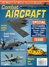 COMBAT AIRCRAFT V4 N4 CANADIAN ARMED FORCES SPECIAL / B-2 WHITEMAN AFB USAF