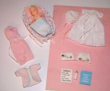 Vintage 1965 #0953 Barbie Baby-sits complete 2nd version w/ HTF exclusive pieces