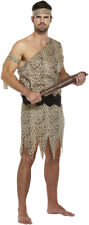 Adult Caveman Costume - Jungle Stag Night Mens Flinstone Wild Fancy Dress