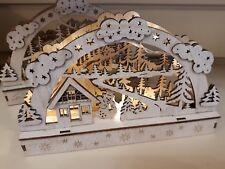 Christmas Starlight Led 3D Scene & Snowman. Perfect Xmas Gift