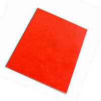 Orange Rubber Stamp Sheet for Laser Cutting Engraving Machine A4 Size 2.3mm