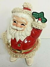 Vintage SPAGHETTI SANTA Christmas Bank