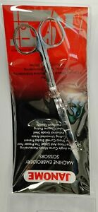 "Janome 6"" Double Angle curve Machine Embroidery Scissors"