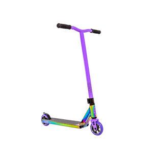 Crisp Surge Complete Scooter Neo Chrome, Oil Slick / Purple