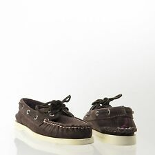 Women's Sperry Top-Sider Corduroy Shoes Brown Boat Loafers Size 5 M NEW!