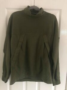 STONE ISLAND ROLL NECK SWEATSHIRT - KHAKI - MEDIUM