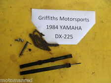 84 YAMAHA DX225 85 YTM225 TRIMOTO timing chain w guides side slide sliders